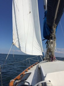 Saturday evening sail with our friend Stephen W.