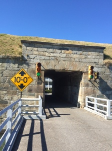 Fort Monroe's East Gate, not an easy for to get access to the interior.