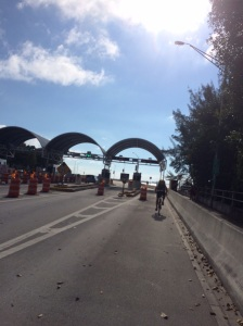 This is the most friendly city for bikes. Even on the toll bridge there was a lane just for the bikers to use. Last weekend there were easily 1000 bikers out on the road to Key Biscayne