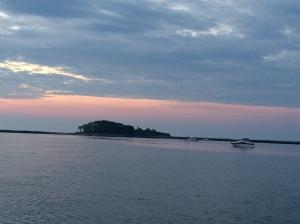 Sunrise at Duck Island Roads