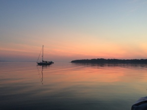 Sunrise at Fishers Island