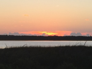 Sunset at Southport, NC