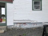 Newly installed Clapboards