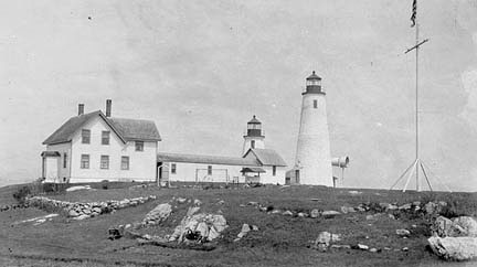 Historical Bakers Island Picture