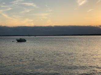 Radio Waves on her Baker's Island mooring