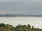 Spinnakers flying