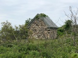 The back of the Oil House